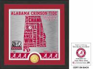 Alabama Crimson Tide State Bronze Coin Photo Mint
