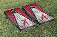 Alabama Crimson Tide Triangle Weathered Cornhole Game Set