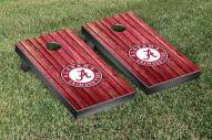 Alabama Crimson Tide Weathered Cornhole Game Set