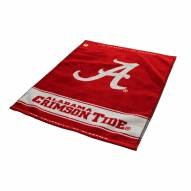 Alabama Crimson Tide Woven Golf Towel