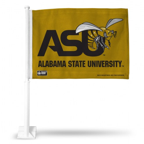 Alabama State Hornets Car Flag