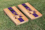 Alcorn State Braves Hardcourt Stripe Cornhole Game Set