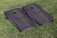 Alcorn State Braves Onyx Stained Border Cornhole Game Set