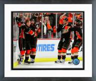 Anaheim Ducks Corey Perry Game Winner Framed Photo