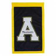 "Appalachian State Mountaineers 28"" x 44"" Double Sided Applique Flag"