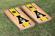 Appalachian State Mountaineers Hardcourt Stripe Cornhole Game Set