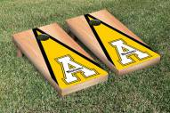 Appalachian State Mountaineers Hardcourt Triangle Cornhole Game Set