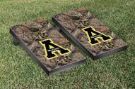 Appalachian State Mountaineers Mossy Oak Cornhole Game Set