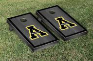 Appalachian State Mountaineers Onyx Stained Border Cornhole Game Set