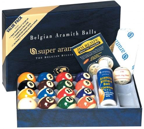 Aramith Belgian Billiard Balls Advantage Value Pack