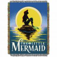 Ariel Little Mermaid Throw Blanket