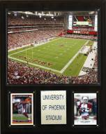 "Arizona Cardinals 12"" x 15"" Stadium Plaque"