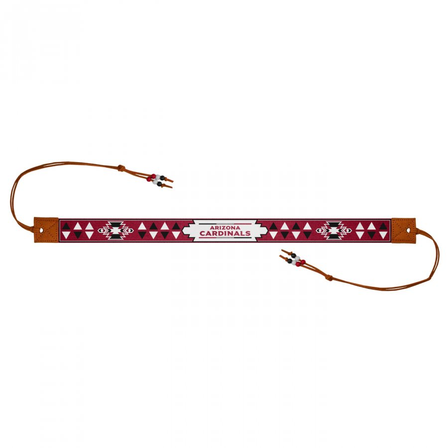 Arizona Cardinals Beaded Headwrap