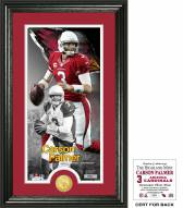 Arizona Cardinals Carson Palmer Supreme Bronze Coin Panoramic Photo Mint