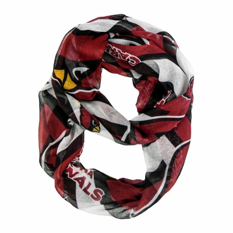 Arizona Cardinals Chevron Sheer Infinity Scarf