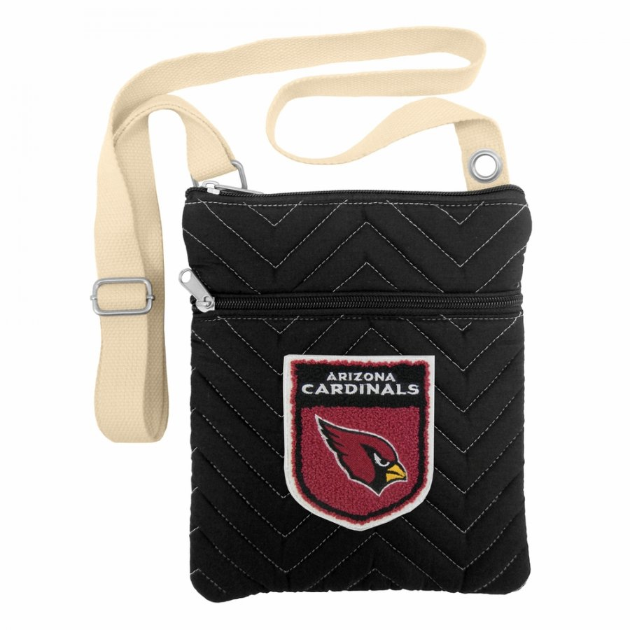 Arizona Cardinals Crest Chevron Crossbody Bag
