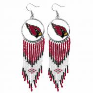 Arizona Cardinals Dreamcatcher Earrings