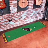 Arizona Cardinals Golf Putting Green Mat