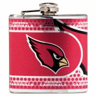 Arizona Cardinals Hi-Def Stainless Steel Flask