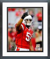 Arizona Cardinals Kevin Minter 2014 Action Framed Photo