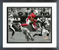 Arizona Cardinals Larry Fitzgerald 2015 Spotlight Action Framed Photo