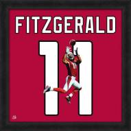 Arizona Cardinals Larry Fitzgerald Uniframe Framed Jersey Photo