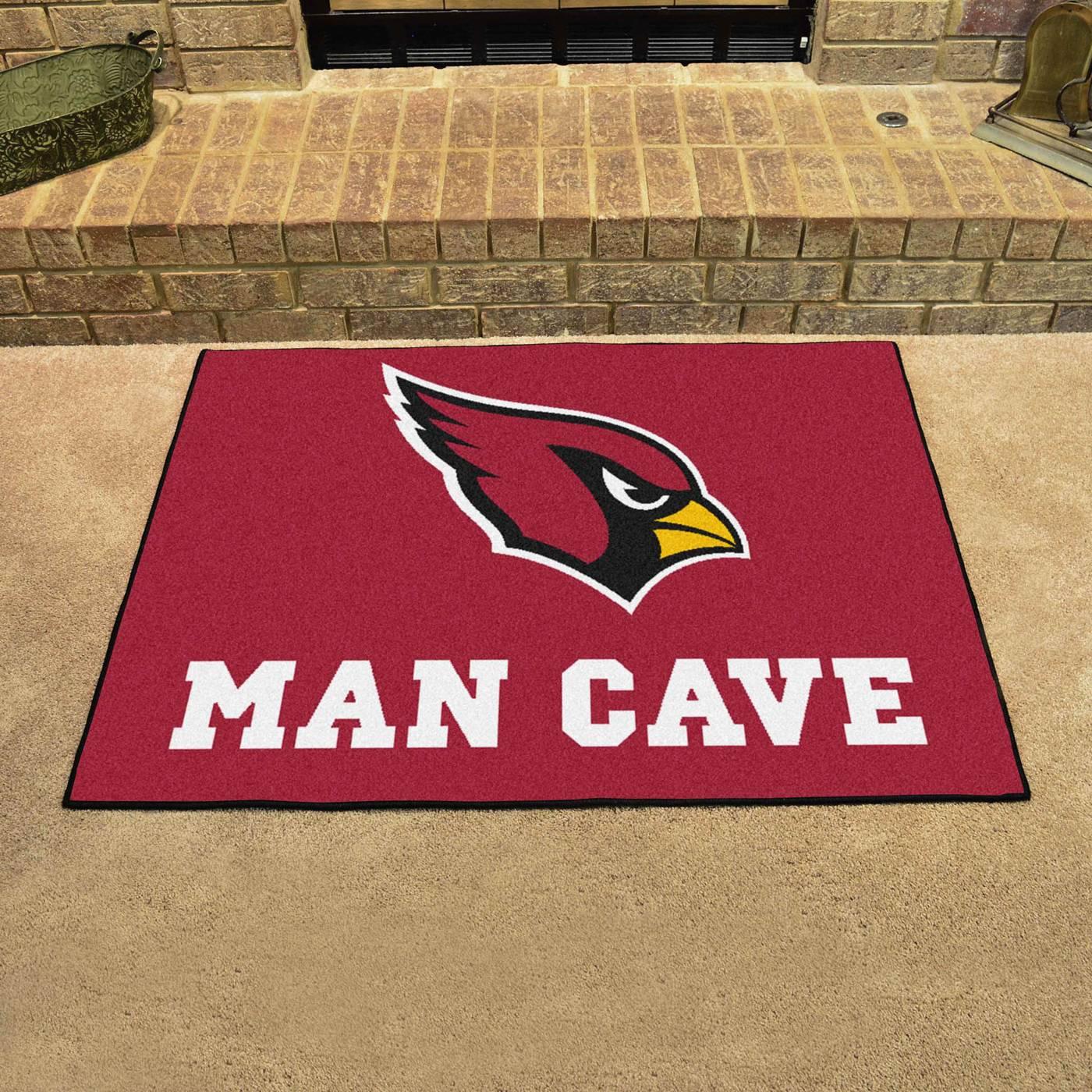 Man Cave Store Az : Arizona cardinals man cave all star rug