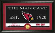 Arizona Cardinals Man Cave Bronze Coin Panoramic Photo Mint