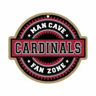 Arizona Cardinals Man Cave Fan Zone Wood Sign