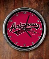 Arizona Cardinals NFL Chrome Wall Clock