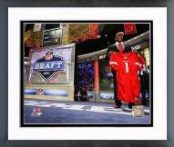 Arizona Cardinals Patrick Peterson 2011 NFL Draft #5 Pick Framed Photo