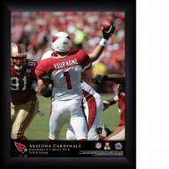 Arizona Cardinals Personalized NFL Action QB Framed Print