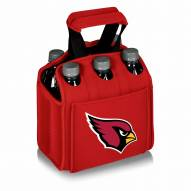 Arizona Cardinals Red Six Pack Cooler Tote
