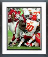 Arizona Cardinals Rodney Gunter 2015 Action Framed Photo