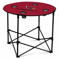 Arizona Cardinals Round Folding Table