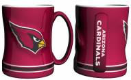 Arizona Cardinals Sculpted Relief Coffee Mug