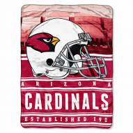 Arizona Cardinals Silk Touch Stacked Blanket