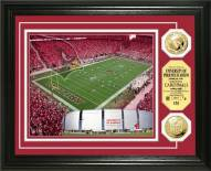 Arizona Cardinals Stadium 24KT Gold Coin Photomint