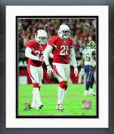 Arizona Cardinals Tyrann Mathieu & Patrick Peterson 2014 Action Framed Photo