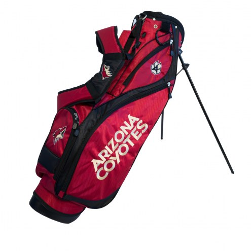 Arizona Coyotes Nassau Stand Golf Bag