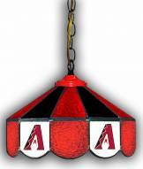 "Arizona Diamondbacks 14"" Glass Pub Lamp"