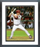 Arizona Diamondbacks Aaron Hill 2015 Action Framed Photo