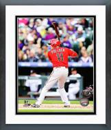 Arizona Diamondbacks A.J. Pollock 2014 Action Framed Photo
