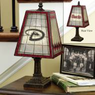 Arizona Diamondbacks Art Glass Table Lamp