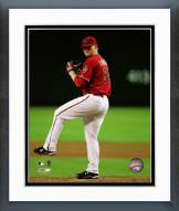 Arizona Diamondbacks Barry Enright pitching Framed Photo
