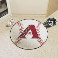 Arizona Diamondbacks Baseball Rug