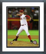 Arizona Diamondbacks Brad Ziegler 2014 Action Framed Photo