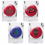 Arizona Diamondbacks Collector's Shot Glass Set