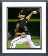 Arizona Diamondbacks Daniel Hudson 2014 Action Framed Photo