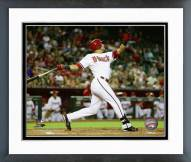 Arizona Diamondbacks David Peralta 2014 Action Framed Photo